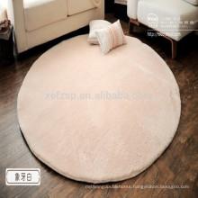 round microfiber silk yoga rug on market prices