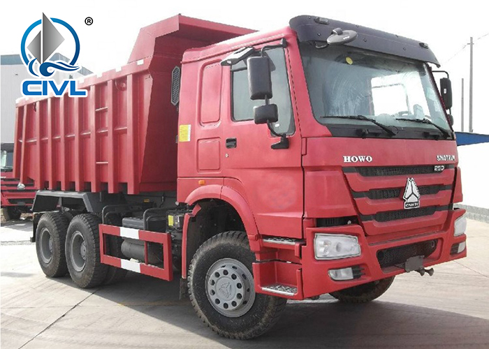 Hot Sale Chinese Brand New Sinotruck Dump 02