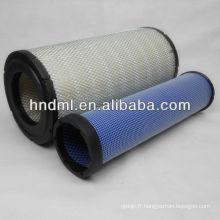 Le remplacement de la cartouche d'épuration d'air DONLADSON P828889, Élément de filtre à air