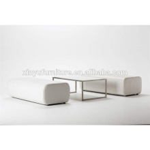 long ottoman and acrylic table for event XYN1939