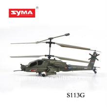 SYMA S113G melhor helicóptero de controle remoto do simulador do tubarão da liga
