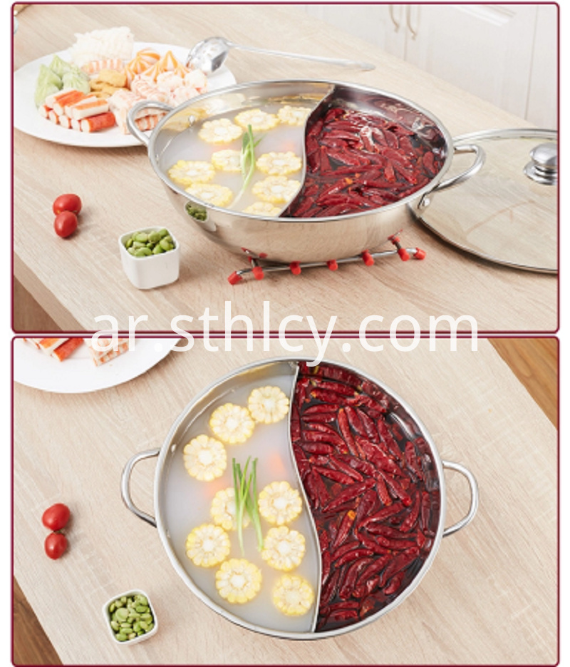 Household Stainless Steel Hot Pot