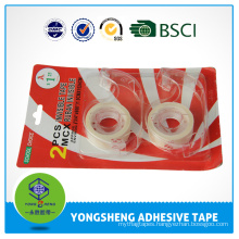 Super Clear Stationery tape set with dispenser