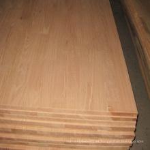 Encimeras de madera de roble rojo para muebles