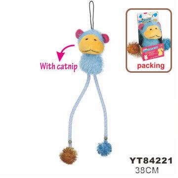 Crochet Cat Toy, Soft Toy (YT84221)