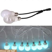 E27 DMX RGB Светодиодная лампа для потолка