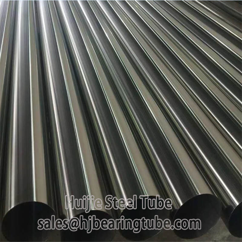 polished stainless tubing