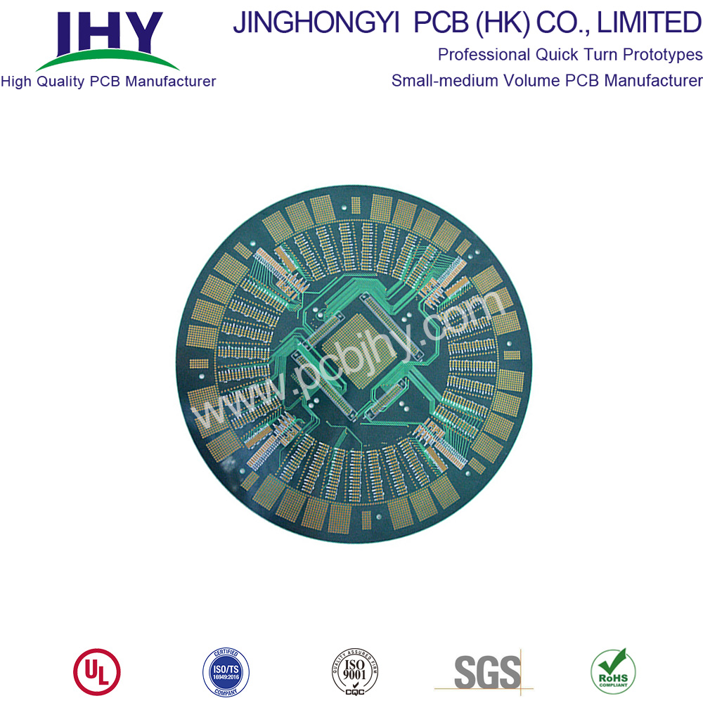 "3.2mm ENIG 2u"" BGA 6Layer PCB"