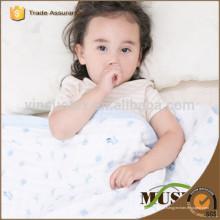 Soft tecido de musselina com padrão amigável, musselina swaddle
