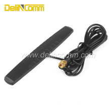 Black 3G Flat intermediate line Antenna with SMA