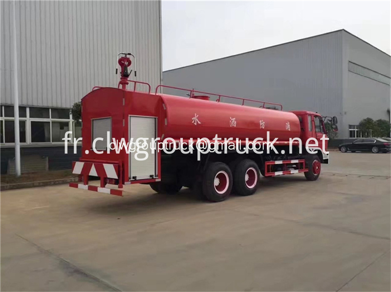 Dongfeng 6x2 Water Tanker Truck 4