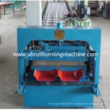 Revêtement de métal galvanisé en métal glacé Machine à formage de rouleaux froids Prix