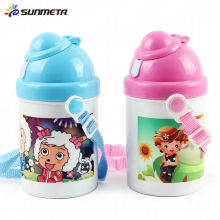 Новая бутылка воды для сублимации Kid для печати теплопередачи 400 мл