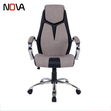 High back PU adn fabric material luxury executive computer task chair