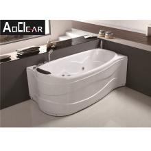 Aokeliya luxury modern massage bathtub with hand shower and pillow 150cm long bathtub for all ages