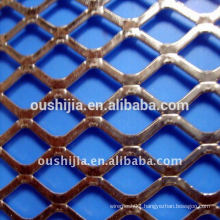 galvanized petite expanded mesh (oushijia)(low price)