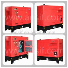 Generador de 250kva, generador de reserva generador diesel silencioso 6LTAA