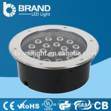 18W 3000K Warm Branco Subterrâneo LED Light, Underground LED Spot Light CE RoHS