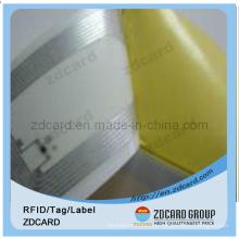 Низкочастотная 125kHz Tk4100 RFID-инкрустация