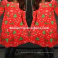 Noël Rouge Couleur Sapin Imprimé Maman Et Fille Robes Famille Look Vêtements Mère Fille Vêtements