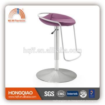 silla giratoria de taburete de bar PU / cuero