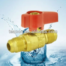 copper standard port gas ball valves with standard port