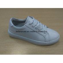 Calçados esportivos de couro clássico calçados esportivos estoque (ff616-4)
