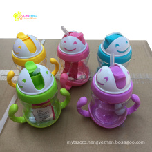 350ml Sippy Cups With Handles Baby Straw Cup Drinking Bottle Children Training Cup