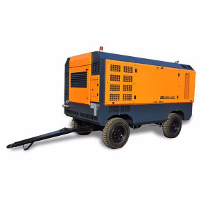 Movable Diesel Screw Air Compressor for Digging