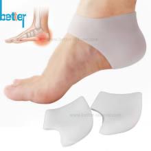 Специальная мягкая силиконовая накладка на пятку для увлажнения