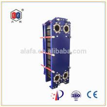China Plattenwärmetauscher Wasser-zu-Öl-Kühler Hersteller (S62)