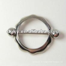 Dongguan venta al por mayor de acero pezón Piercing Body Jewelry