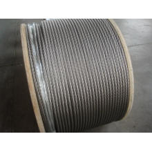 316 stainless steel wire rope 1x19 12.0mm