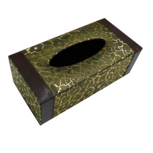 Rectangle Leder Tissue Box für Hotel