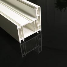 Perfis de plástico uPVC para porta dianteira de uPVC