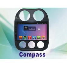Navegação do sistema Android GPS para bússola 10,2 polegadas com DVD de carro