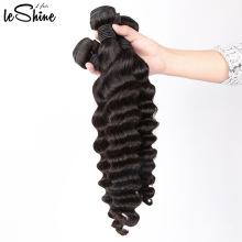 Top Grade Hair Cheap Price Large Stock Fast Shipping Human Hair Peruvian Deep Wave Bundles
