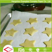 Papier de cuisson traité au silicone de 400 mm x 600 mm