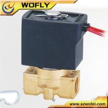 Plastic air valve plastic solenoid valve 24v
