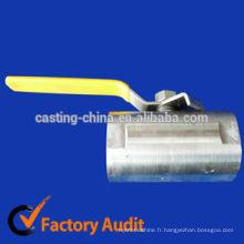 vannes à flotteur en acier inoxydable