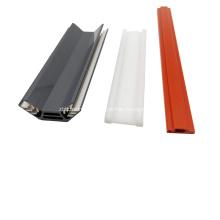 Изготовленный на заказ полый профиль экструзии HDPE для строительных материалов