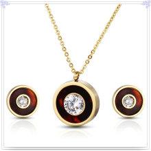 Accesorios de moda joyería de joyería de acero inoxidable conjunto (js0258)