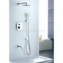 KWM-07 showerhead and handle wall mounted thermostats bathroom rain shower set