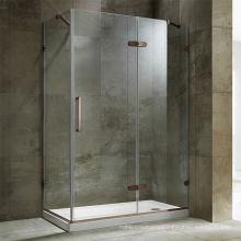 Seawin simple style Bathroom Farmeless Corner Cabin Glass hinge Shower Rooms cabin