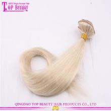 Clip de vente directe d'usine de qualité supérieure dans les prolongements de cheveux pour l'Afro-américain