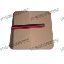 Hoja de espejo de acero inoxidable de alta calidad 430 para materiales de decoración