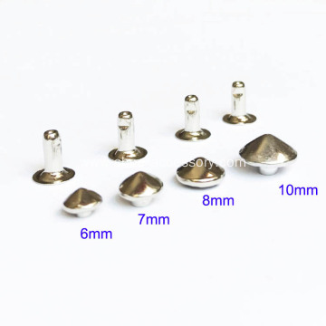 Facets Cone Round Edges Rivets