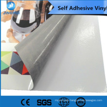 big promotion 1.52x50m matte white pvc self adhesive vinyl