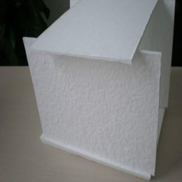 Panneau isolant de vide de matériel de noyau de VIP fibre de verre