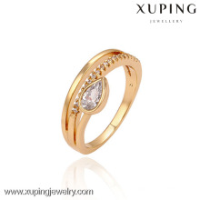 13449 China Xuping Fashion Dazzling with 18K gold plated Woman Ring